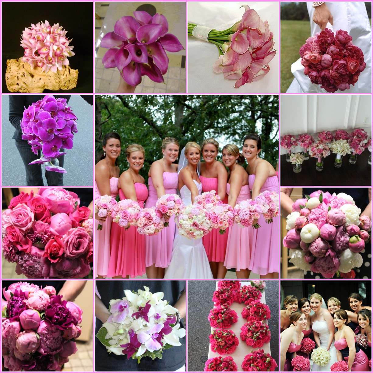 Wedding Ideas: Pink And White With A Touch Of Bling